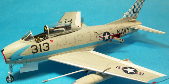 Rareplanes 1/72 FJ-4B Fury, by Carmel J. Attard